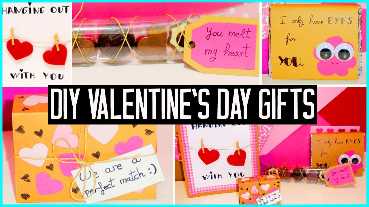 Valentine'S Day Gift Ideas For Girlfriend  DIY Valentine s day little t ideas For boyfriend
