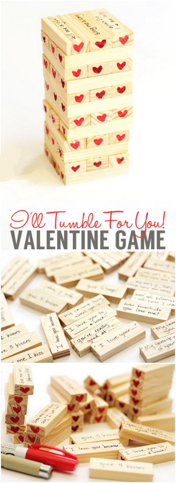 Valentines Gift Ideas For Boyfriends  Easy DIY Valentine s Day Gifts for Boyfriend Listing More