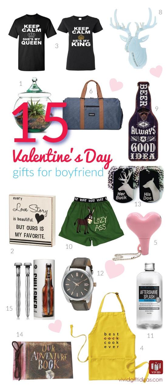 Valentines Gift Ideas For Boyfriends  15 Valentine s Day Gift Ideas for Your Boyfriend Vivid s