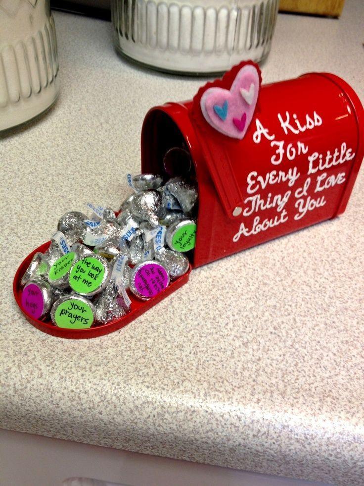 Valentines Gift Ideas For Boyfriends  I made this for my boyfriend for valentine s day Just