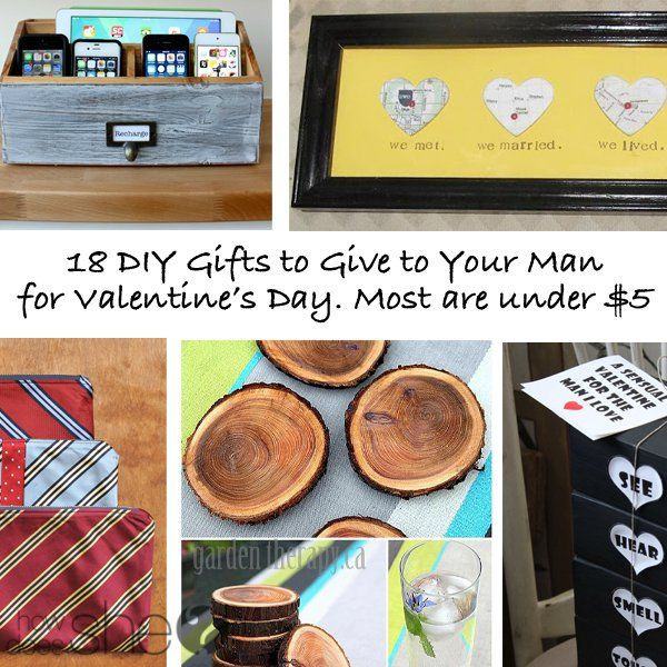 Valentines Gift Ideas For Husband  DIY Valentine s Gifts for Husband
