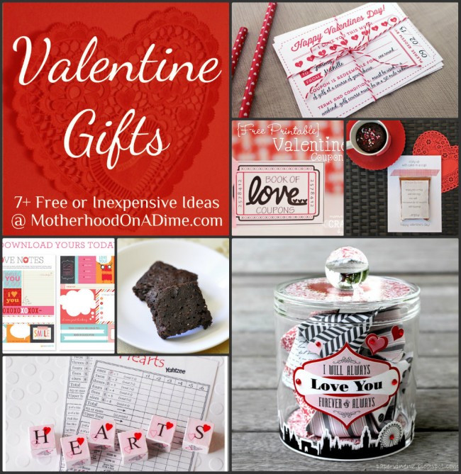 Valentines Gift Ideas For Husband  Free & Inexpensive Homemade Valentine Gift Ideas Kids