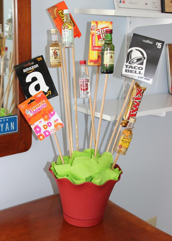 Valentines Gift Ideas For Men  DIY Valentine s Day Gift A Man Bouquet