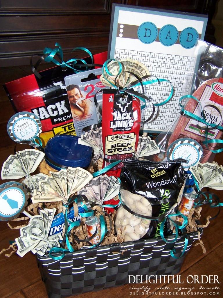 Valentines Gift Ideas For Men  DIY Valentine s Day Gift Baskets For Him Darling Doodles