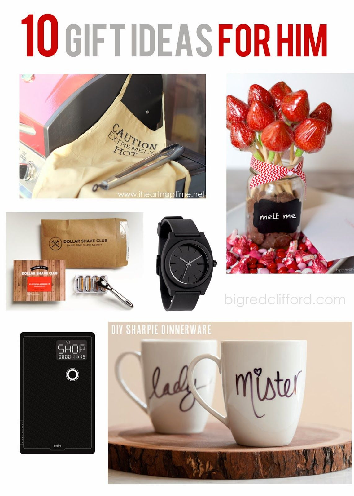 Valentines Gift Ideas For Men  valentines ideas for HIM DIY and quick grabs you