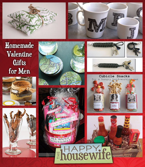 Valentines Gift Ideas For Men  Fourteen Homemade Gifts for Men The Happy Housewife