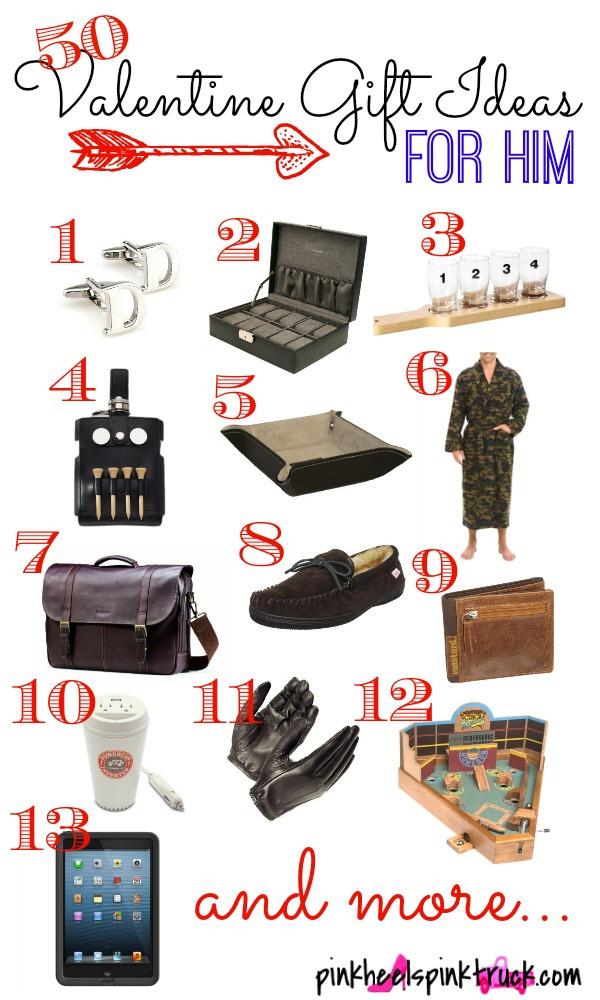 Valentines Gift Ideas For Men  50 Valentine Gift Ideas for Him • Taylor Bradford
