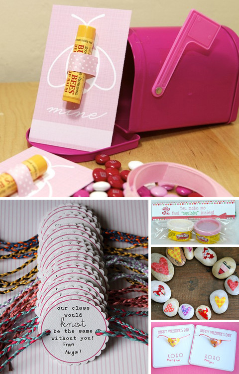 Valentines Gift Ideas Pinterest  Sharing the Love 50 Ideas for Making Your Own Valentines