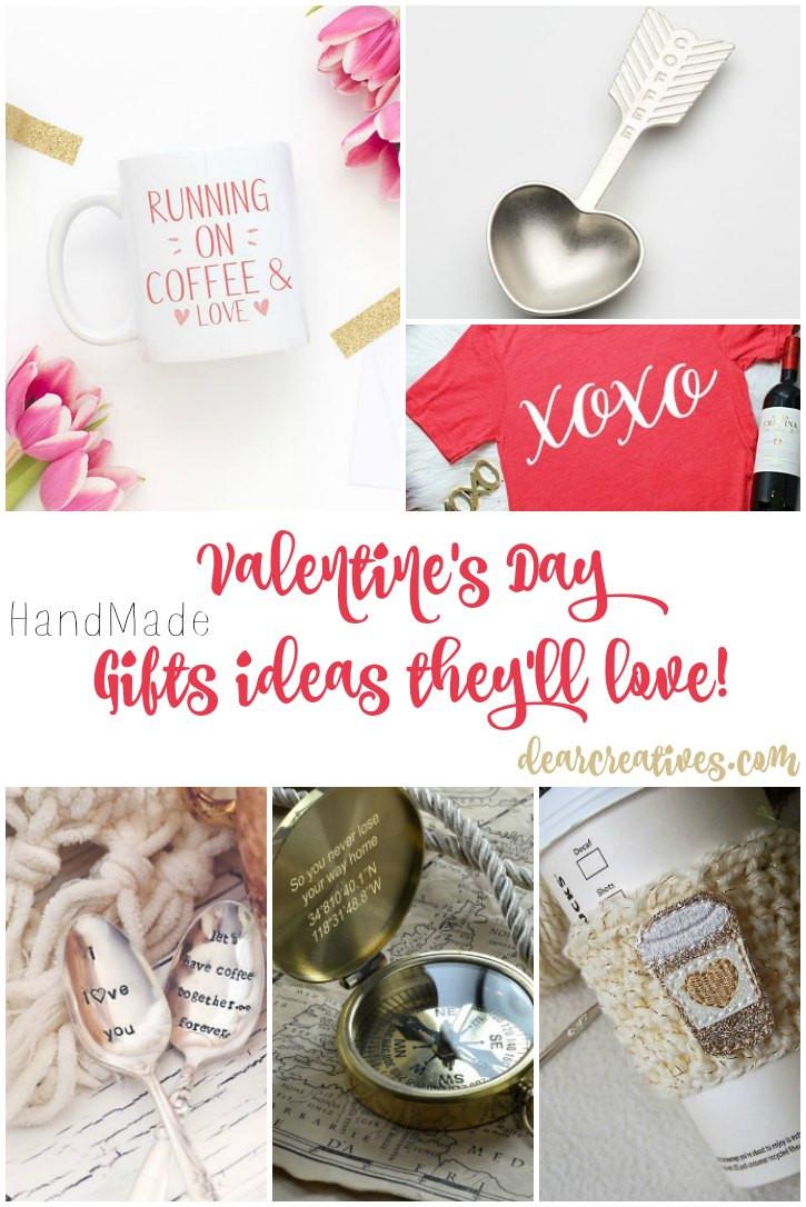 Valentines Gift Ideas Pinterest  Gift Ideas Handmade Valentine s Day They ll Love Ideas
