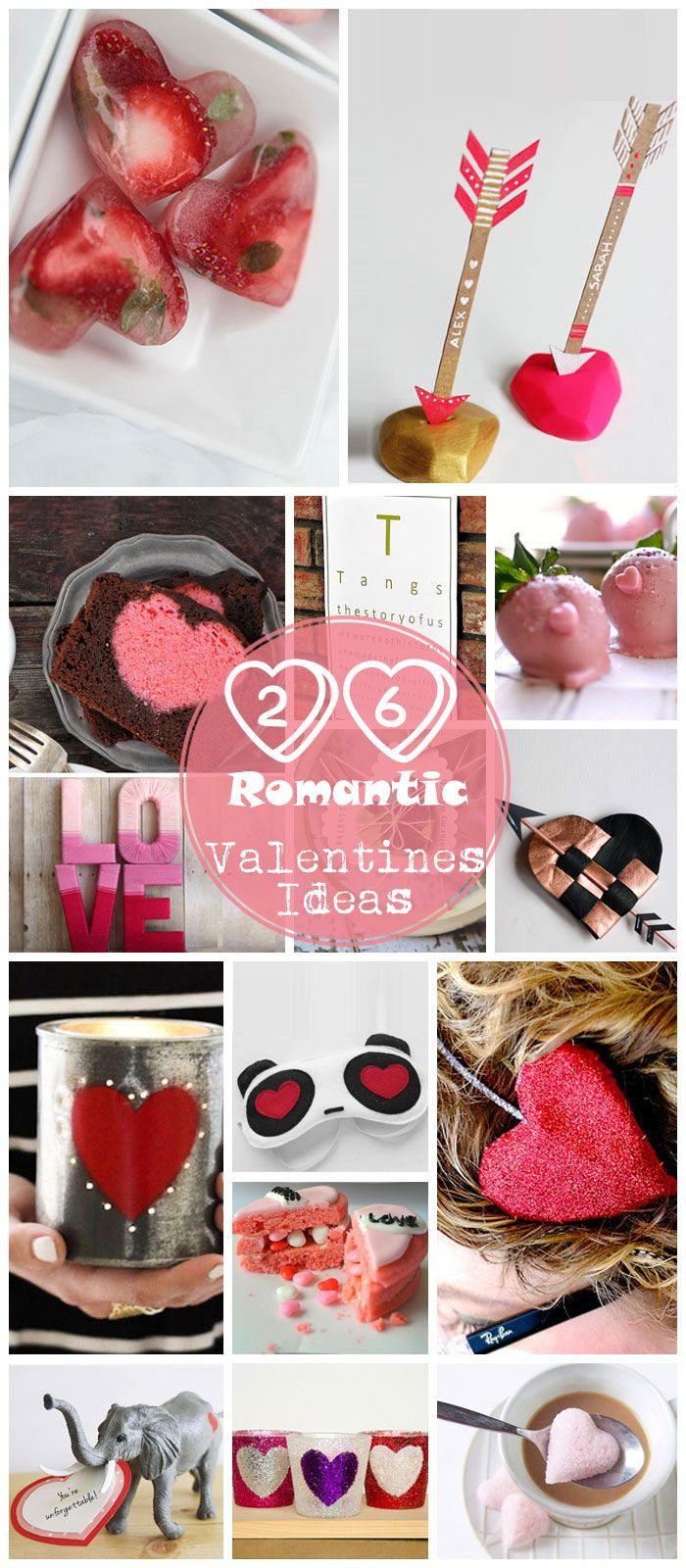Valentines Gift Ideas Pinterest  Pick for 26 DIY Romantic Valentines Day Ideas for
