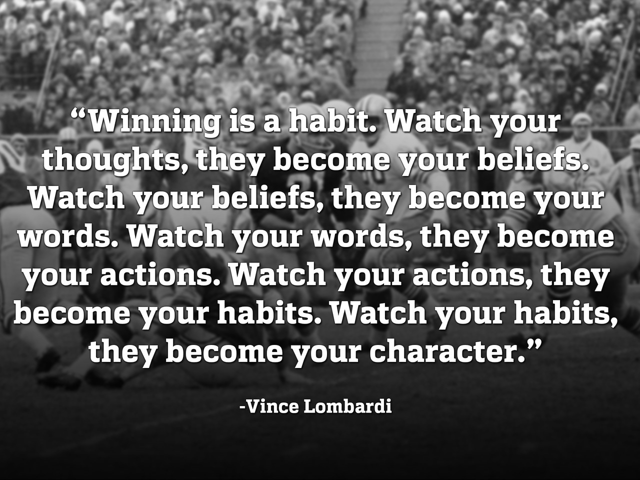 Vince Lombardi Leadership Quotes  By Vince Lombardi Football Quotes QuotesGram
