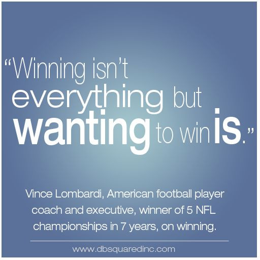 Vince Lombardi Leadership Quotes  vince lombardi famous quote winning isn t everything from