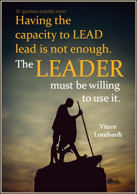 Vince Lombardi Leadership Quotes  Vince Lombardi Quotes and Sayings with Image Quotes and