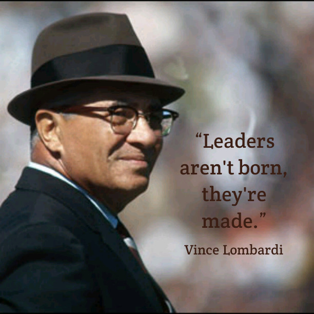 Vince Lombardi Leadership Quotes  Inspirational Quotes