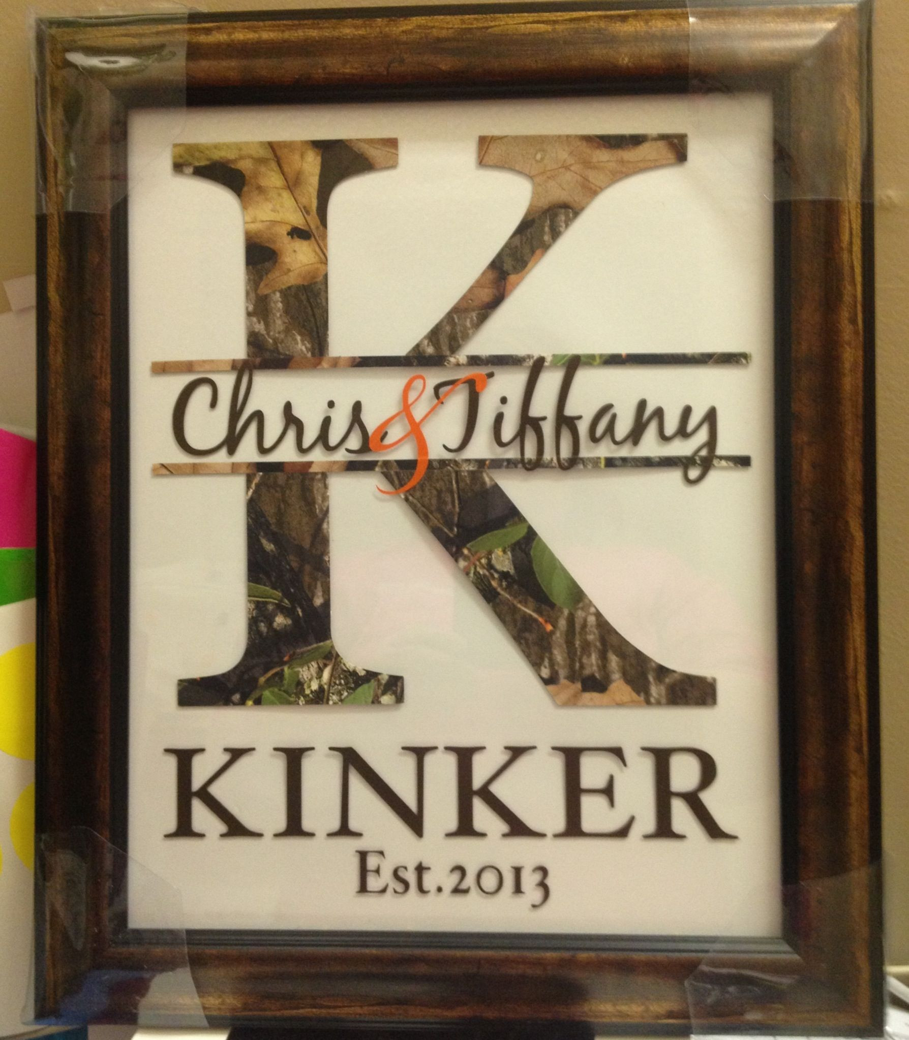Wedding Gift Ideas For Outdoorsy Couple  For the hunting couple Misc