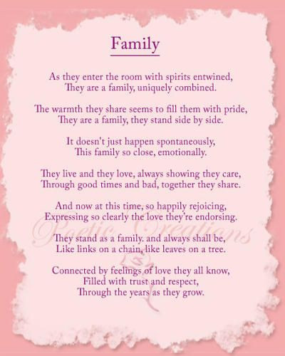 Welcome To The Family Quotes  Family Poem Family reunion Pinterest
