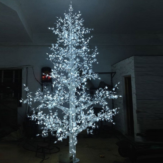 White Outdoor Christmas Tree  Aliexpress Buy 5 0Meter 4320LED christmas easter