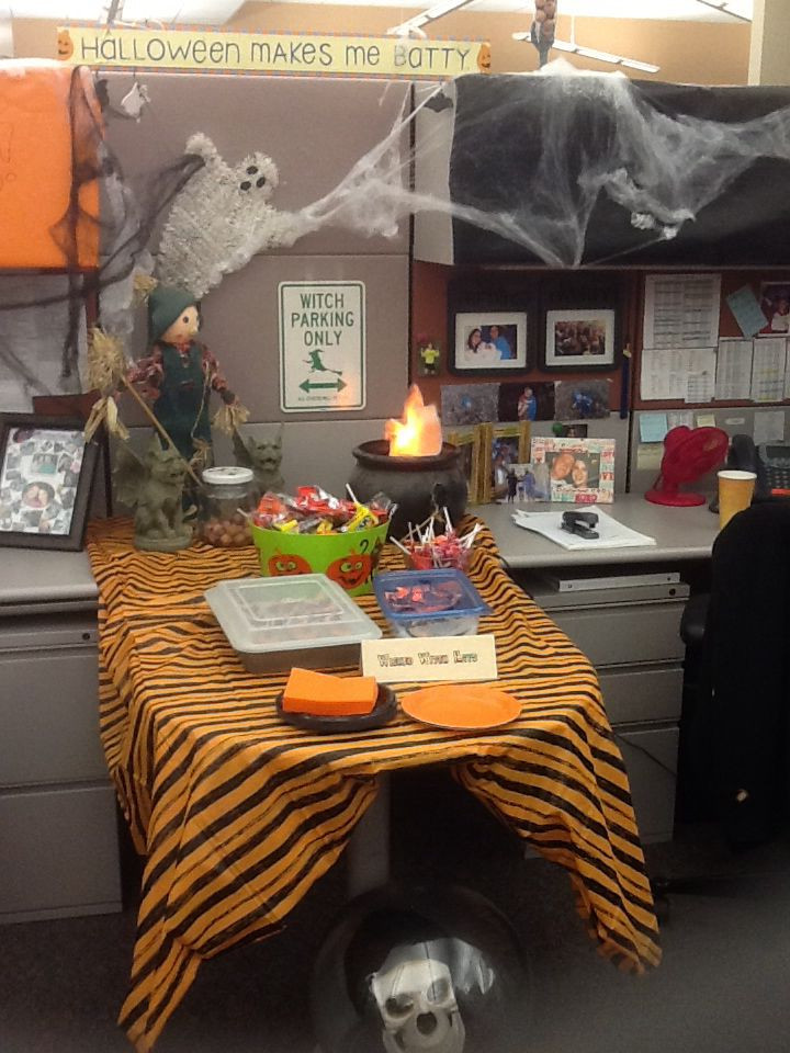 Work Halloween Party Ideas  Halloween decorations for the office
