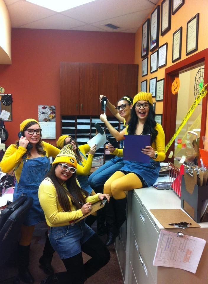 Work Halloween Party Ideas  Minion costume Best Halloween costume for the office
