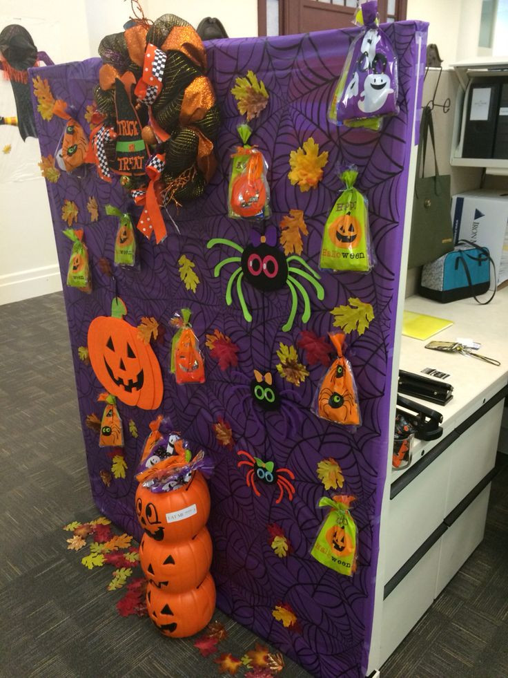 Work Halloween Party Ideas  Cubicle decoration Halloween