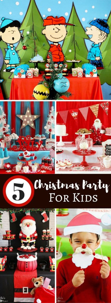 Youth Christmas Party Ideas  5 Fun Christmas Party Ideas For Kids Michelle s Party