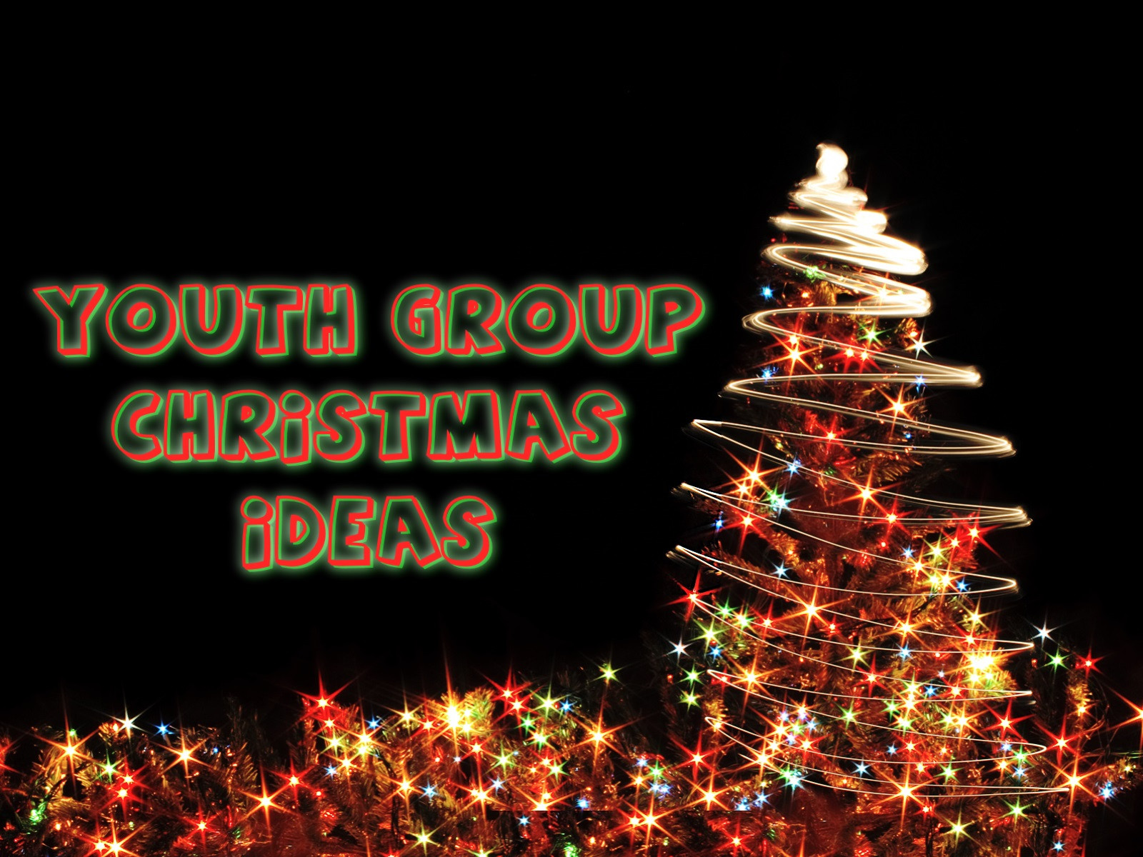 Youth Christmas Party Ideas  Youth Group Christmas Ideas ProjectYM