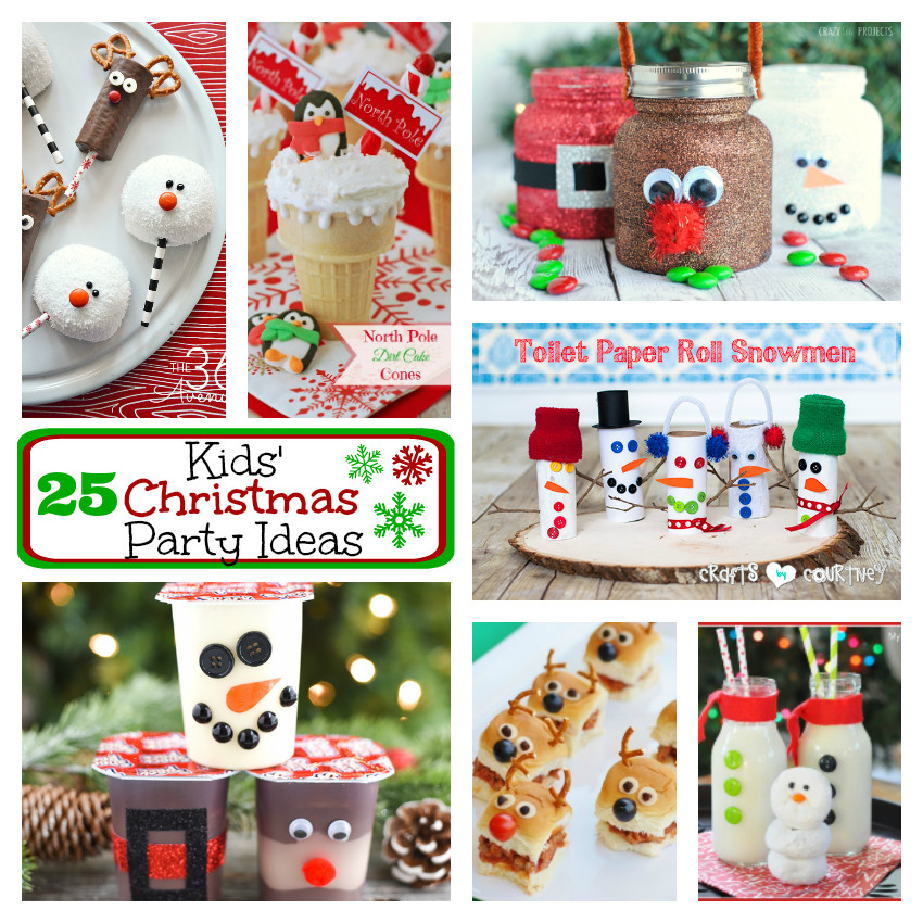 Youth Christmas Party Ideas  25 Kids Christmas Party Ideas – Fun Squared