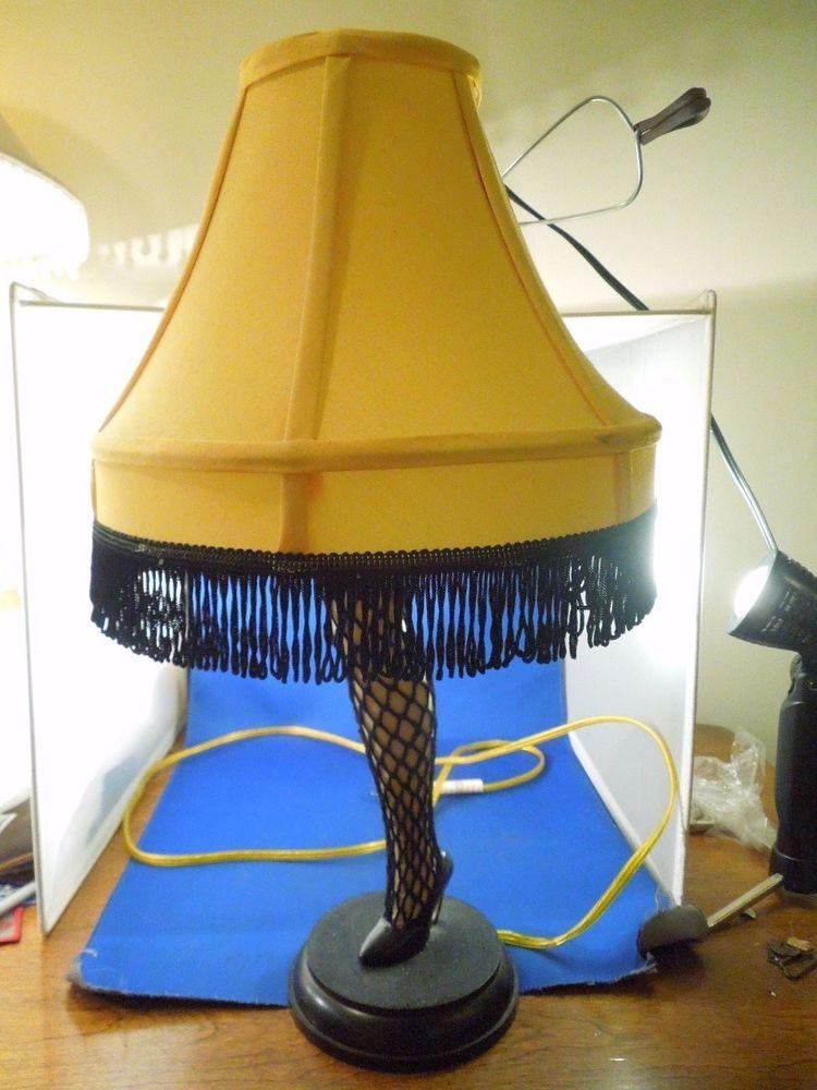 20 Christmas Story Leg Lamp  A Christmas Story Electric Leg Lamp Smaller 20 Inch Table