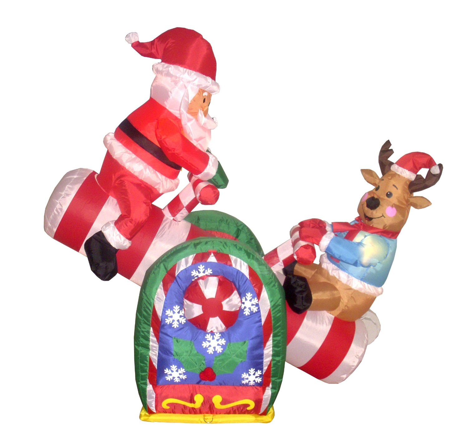 Animated Outdoor Christmas Decorations  inflatable outdoor decorations