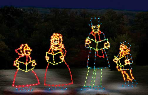 Animated Outdoor Christmas Decorations  mercial Animated Christmas display – Temple Display