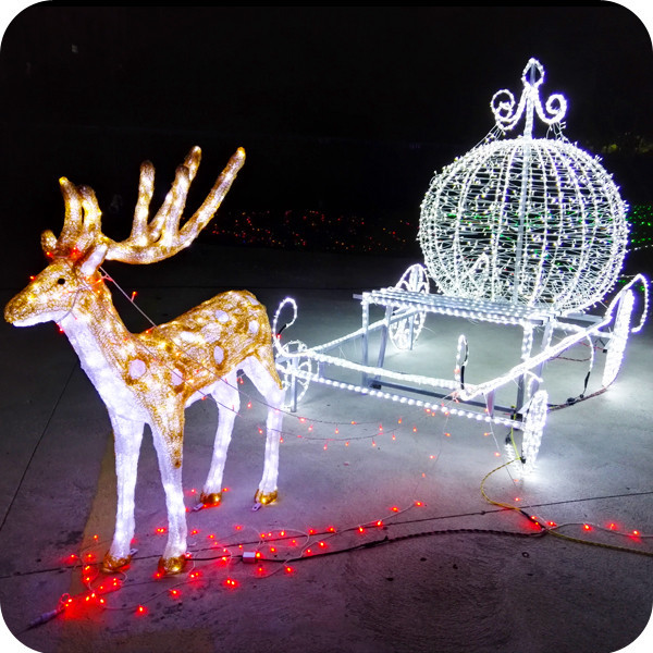 Animated Outdoor Christmas Decorations  Outdoor Animated Lighted Christmas Decorations Led