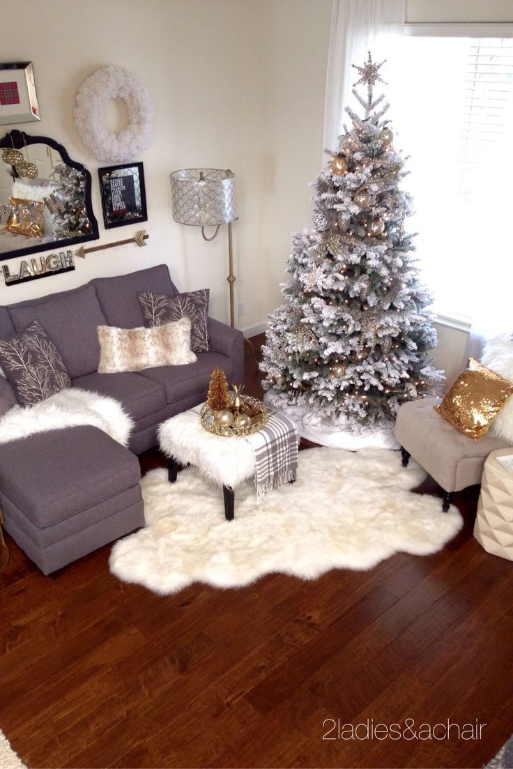 Apartment Sized Christmas Tree  Christmas Decoration Ideas For Studio Apartments