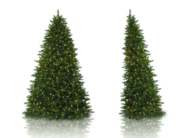 Apartment Sized Christmas Tree  Flatback Christmas Trees A Holiday Miracle for Small Spaces