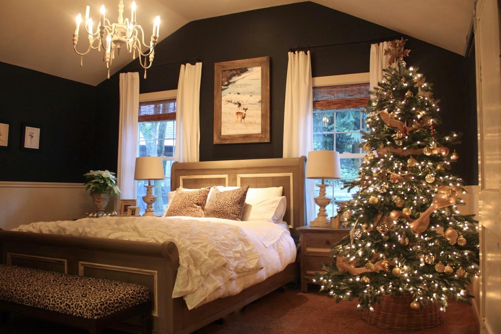 Bedroom Christmas Tree  My Sweet Savannah the evolution of our master bedroom