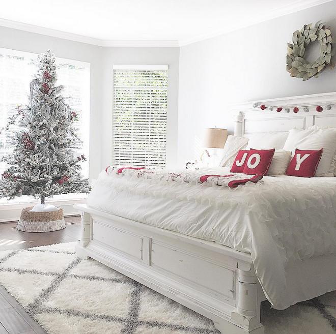 Bedroom Christmas Tree  New 2016 Christmas Decorating Ideas Home Bunch Interior