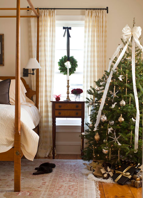 Bedroom Christmas Tree  A Christmas Tree for Every Room