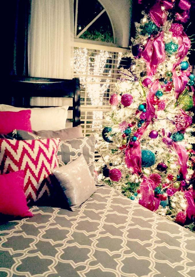 Bedroom Christmas Tree  10 Cozy Homes You'll Want to Snuggle in This Winter