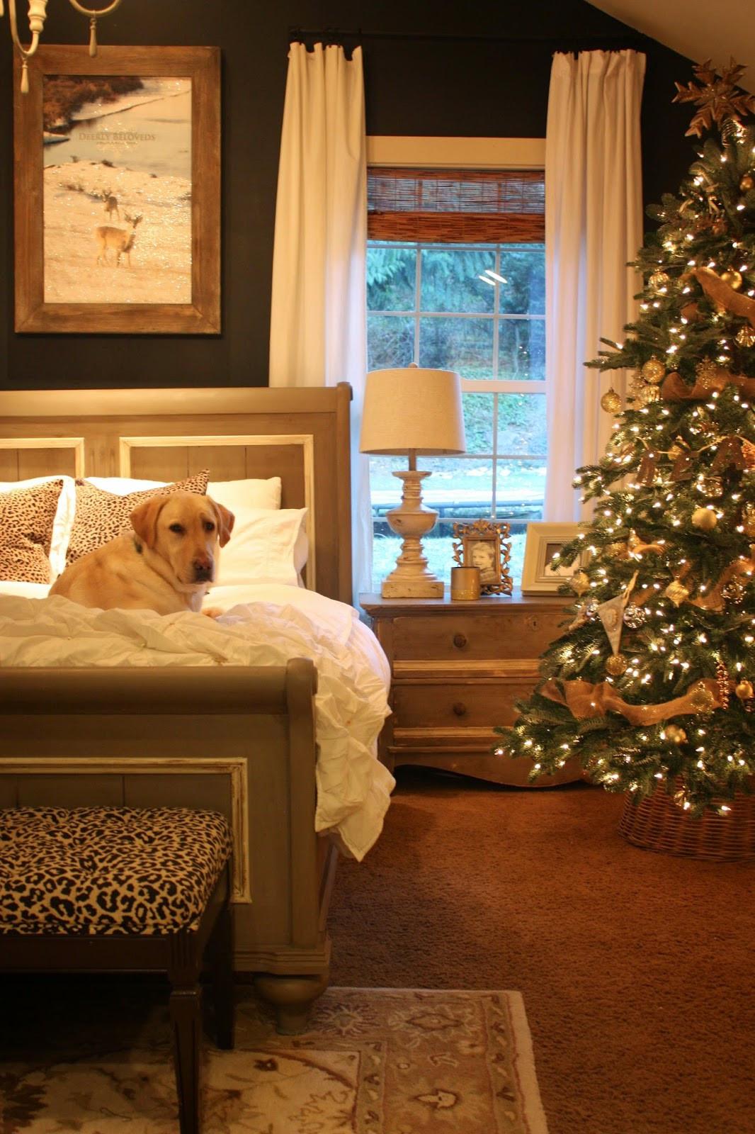 Bedroom Christmas Tree  My Sweet Savannah balsam hill trees 12 bloggers of