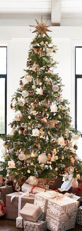 Cabin Christmas Tree  Rustic Christmas Decorating Ideas Country Christmas Decor