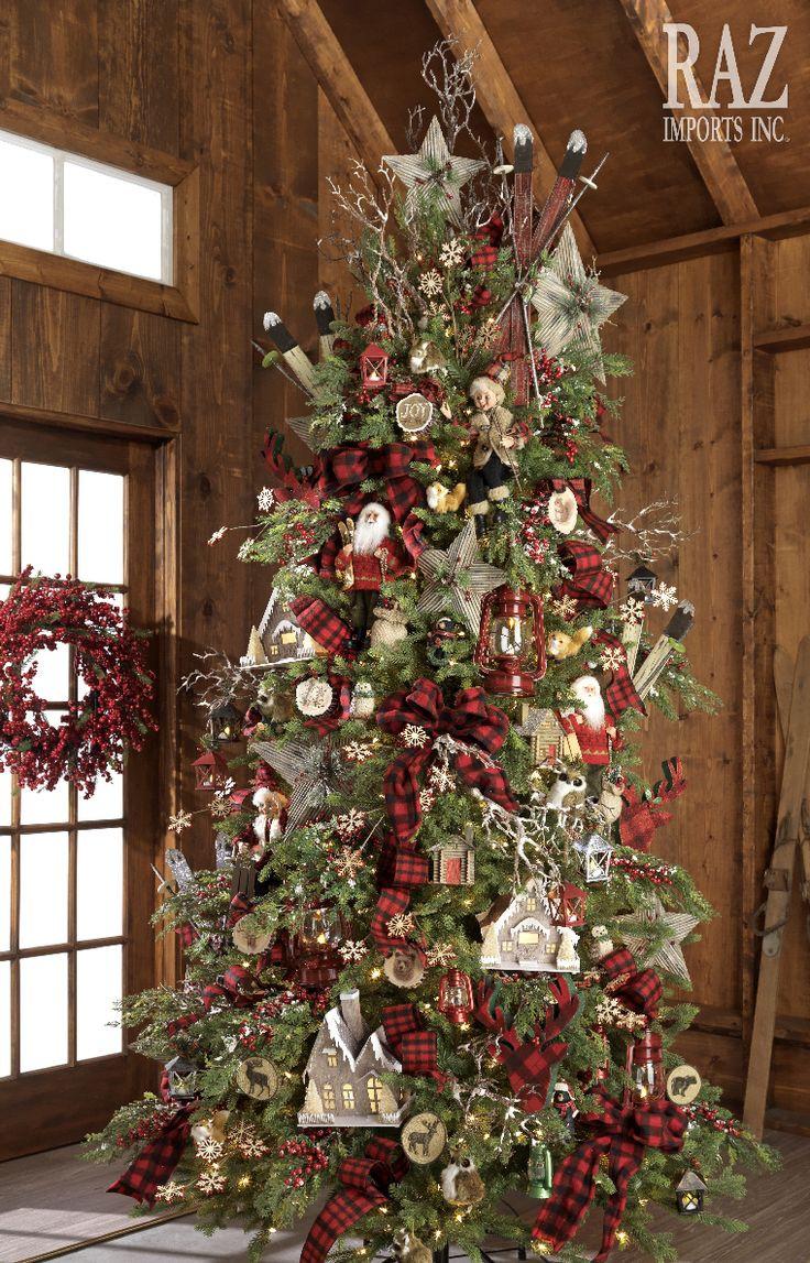 Cabin Christmas Tree  Best 20 Cabin christmas ideas on Pinterest