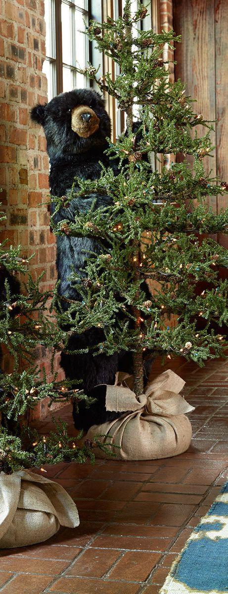 Cabin Christmas Tree  Best 25 Cabin christmas ideas on Pinterest