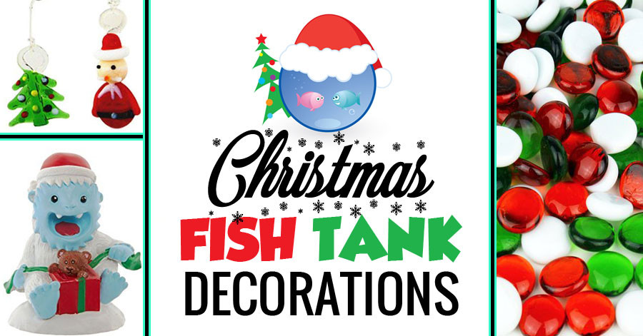 Christmas Aquarium Decor  Fun Christmas Fish Tank Decorations And Ideas To Put Your