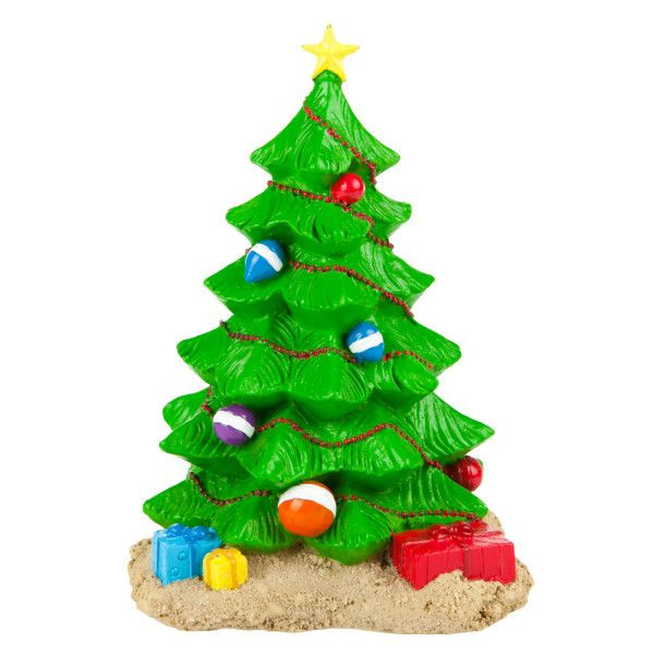 Christmas Aquarium Decor  Trim the tree below the water Top Fin Christmas Tree