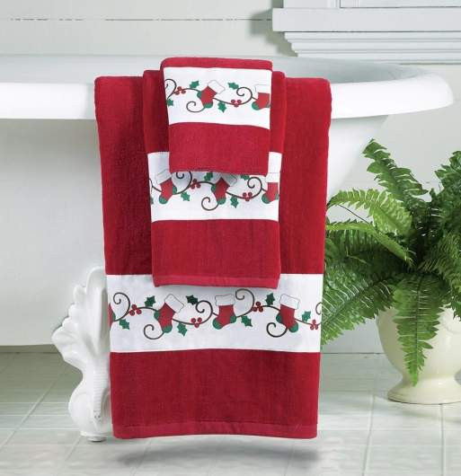 Christmas Bathroom towels Inspirational top 10 Best Christmas Hand towels 2017