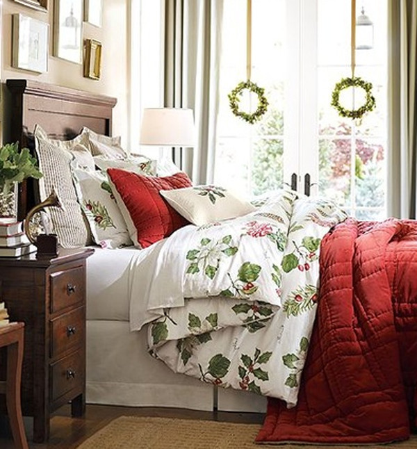 Christmas Bedroom Decorating Ideas  BEDROOMS AT THE BEST FOR THE FESTIVE SEASON