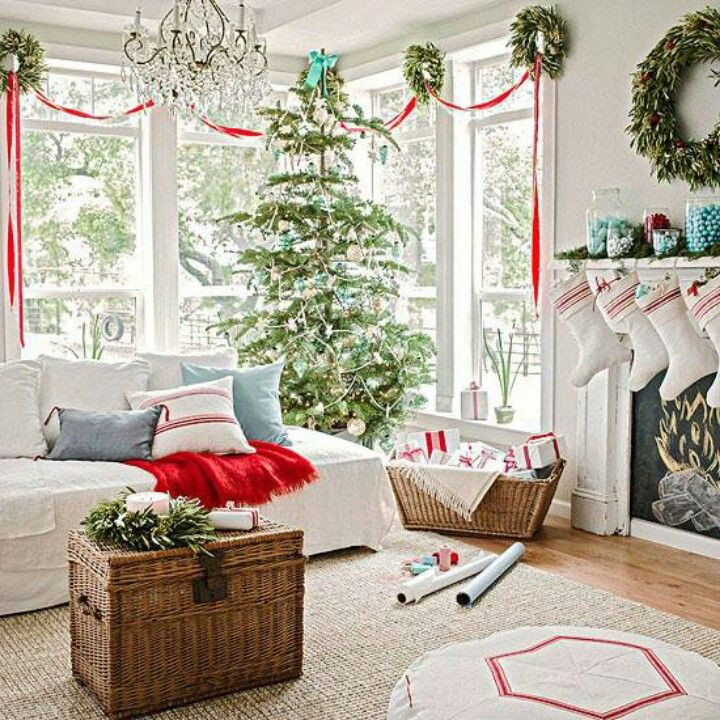 Christmas Decor Living Room  55 Dreamy Christmas Living Room Décor Ideas