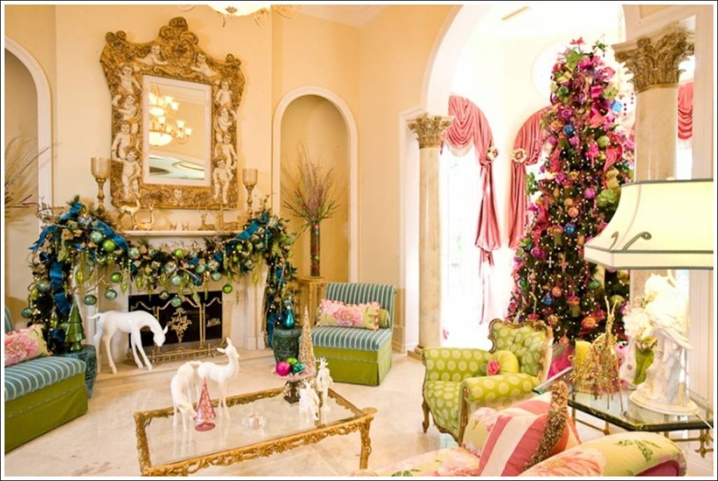 Christmas Decor Living Room  Enchanting Christmas Decorations For Your Living Room A