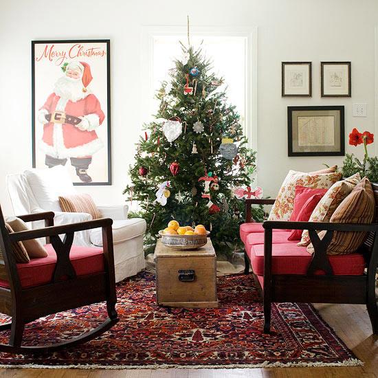 Christmas Decorations Living Room  25 Christmas living room design ideas