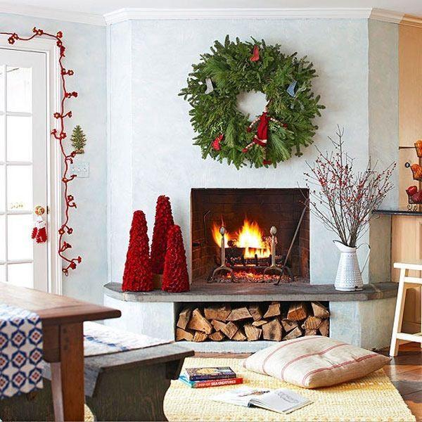 Christmas Decorations Living Room  55 Dreamy Christmas Living Room Décor Ideas