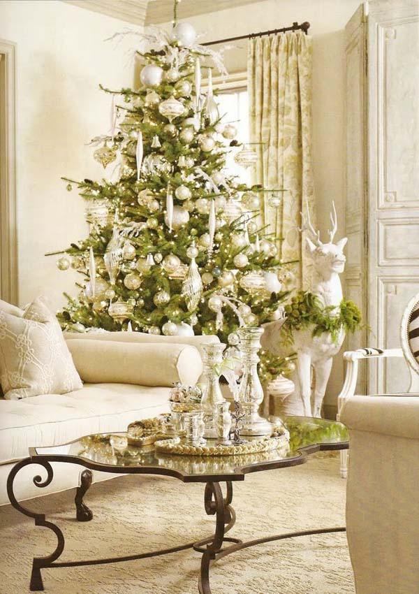 Christmas Decorations Living Room  Christmas Living Room Decorating Ideas